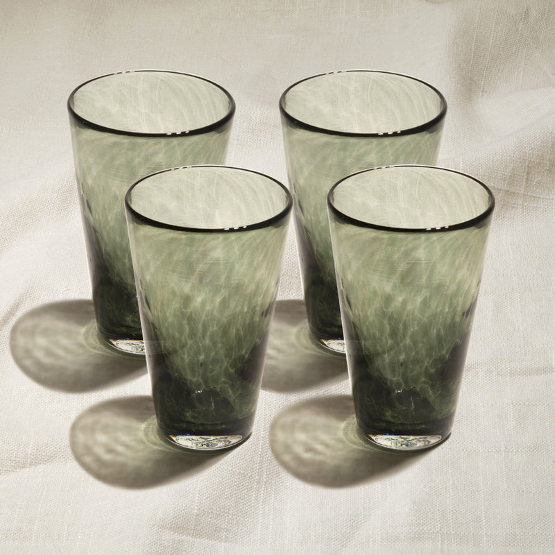 Singapore Grey Tumbler Set of 4