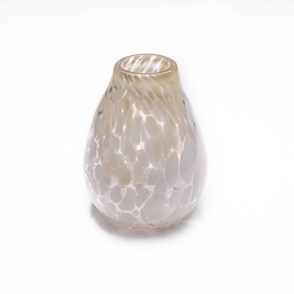 Cream Two Tone Table Vase