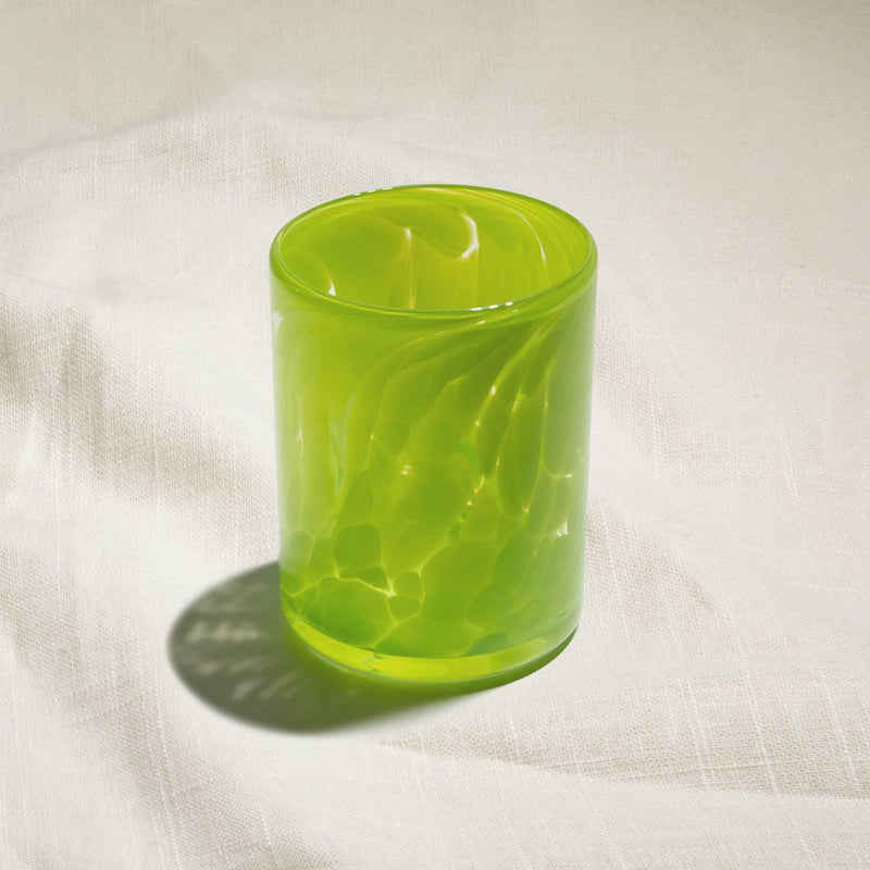 Apple Green Water Glass
