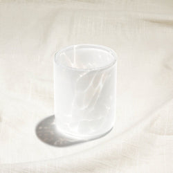 Aspen White Water Glass