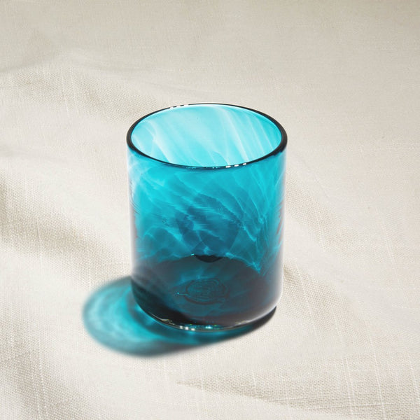 Lagoon Water Glass