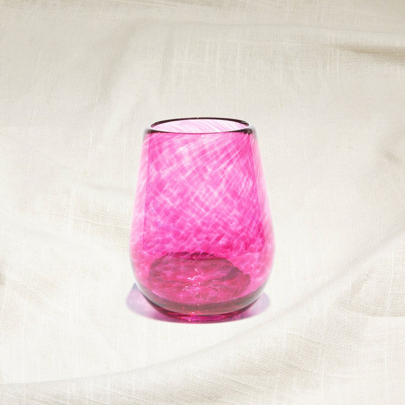Cranberry Wine Glass