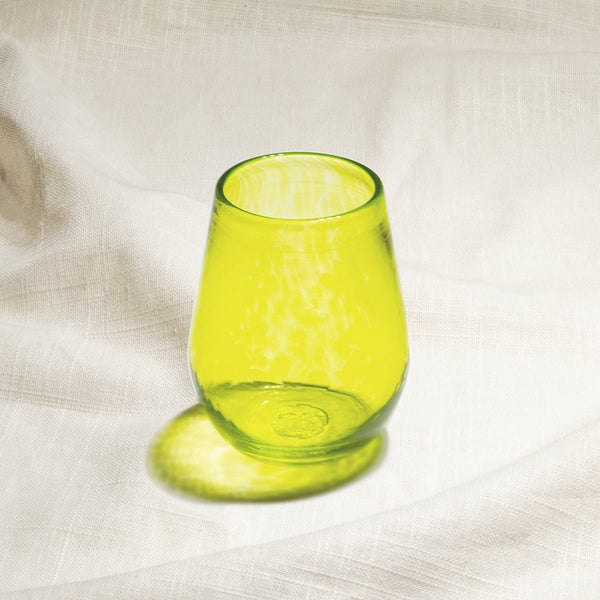 Lime Wine Glass