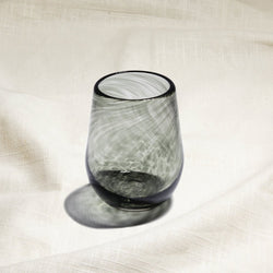 Singapore Grey Wine Glass