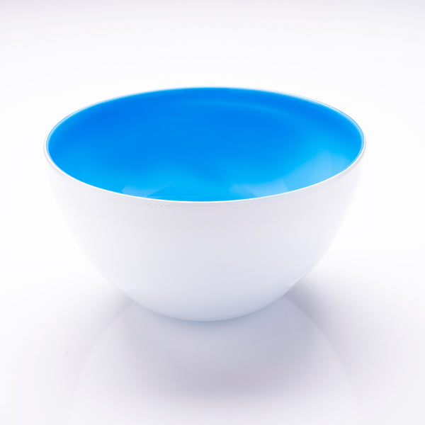 Light Blue Glass Bowl