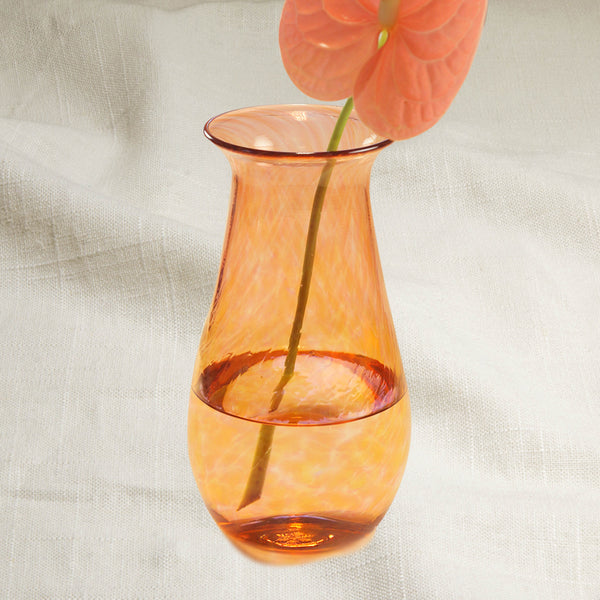 Grapefruit Hourglass Vase