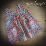 SOLD: Liberty print floral dress, age 18 months