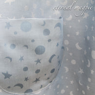 "Made to order: children's ""Celestial"" print dress"
