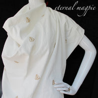 Made to order: women's embroidered golden bee dress