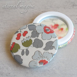 Liberty print pocket mirror