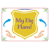 LAST DAY to pre-order: My Big Plans! A4 planner for ages 5 and up