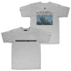 CALVIN HARRIS 'GOD'S EYES STUDIOS' HEATHER GREY TEE