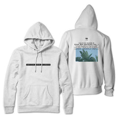 CALVIN HARRIS 'GOD'S EYES STUDIOS' WHITE PULLOVER