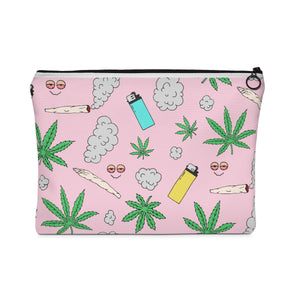 Leaf Love Makeup Bag
