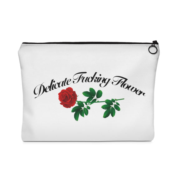 Delicate Flower Makeup Bag