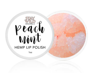 Peach Mint Lip Polish