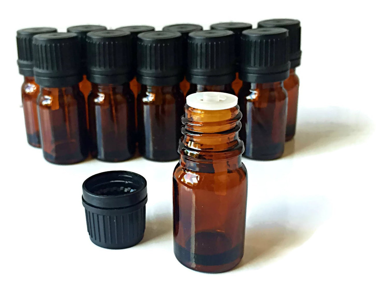 Euro Bottles - 12 pack for Essential Oils by Oils For Everything