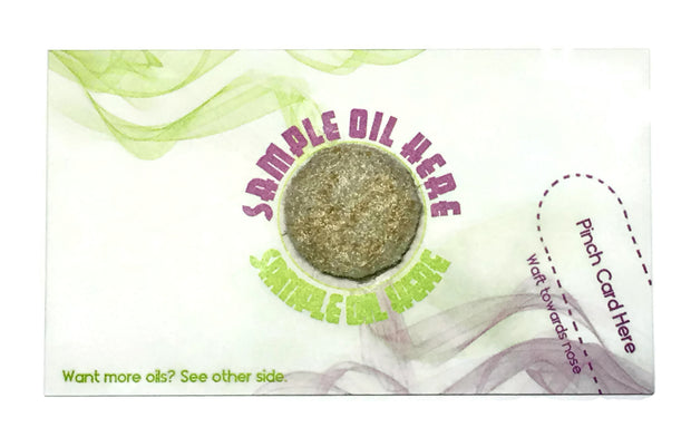 Call to Action Business Cards for Essential Oil Sellers - 150 per order