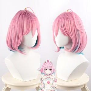 Game The Idolmaster Cinderella Girls Yumemi Riamu Wig Cosplay Heat Resistant Synthetic Hair Wig+ Wig Cap