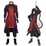 Load image into Gallery viewer, NARUTO Cosplay Uchiha Madara Cosplay Costume Outfits Halloween Carnival