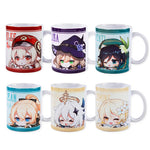 Load image into Gallery viewer, Anime Genshin Impact Lisa Venti Klee Lumine Jean Paimon Ceramic Mug Cup Cartoon Water Coffee Cup Xmas Gifts