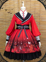 Load image into Gallery viewer, Heaven's Official Blessing Lolita Dress Hua Cheng Xie Lian Cosplay Costume Sex Transfer Outfit