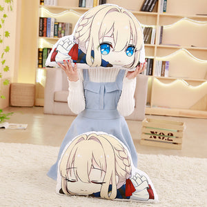 Violet Evergarden plush pillow Stuffed Cushion Christmas Gift