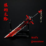 Load image into Gallery viewer, Genshin Impact Weapon Keychain Wolf's Gravestone Skyward Blade Weapons Keycharm Birthday Christmas Gift