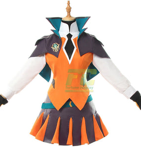 LOL Lux Cosplay Costume LOL Battle Academia