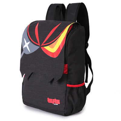 Kill La Kill Matoi Ryuko Unisex Canvas Backpack School Travel Shoulder Bag