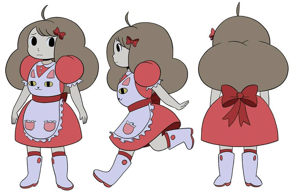 Bee cosplay from Bee and Puppycat costume