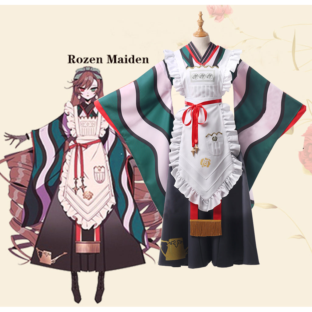 Rozen Maiden Cosplay Costume Suiseiseki Jade Stern 15th anniversary Dress Custom Made - fortunecosplay