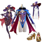 Load image into Gallery viewer, Genshin Impact Mona Cosplay Shoes Halloween Carnival Cosplay Accessories