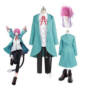 Division Rap Battle DRB Amemura Ramuda Hypnosis Mic easy R Uniform Suit Cosplay Costume