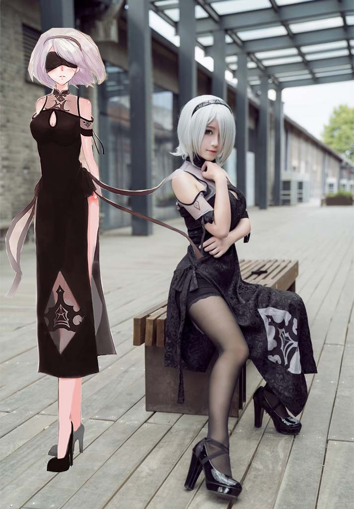 Nier automata cosplay hot