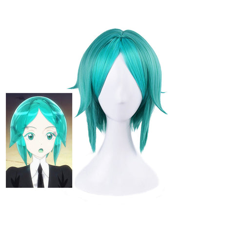 Land of the Lustrous Houseki no Kuni Phosphophyllite Green Cosplay Full Wigs