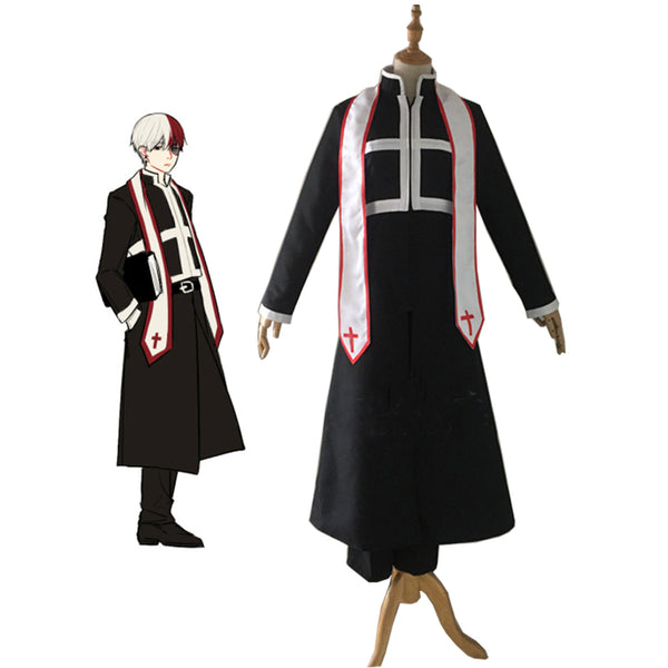 Boku no Hero Akademia Shouto Todoroki God Father My Hero Academia Cosplay Costume