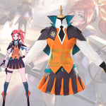 Load image into Gallery viewer, LOL Lux Cosplay Costume LOL Battle Academia