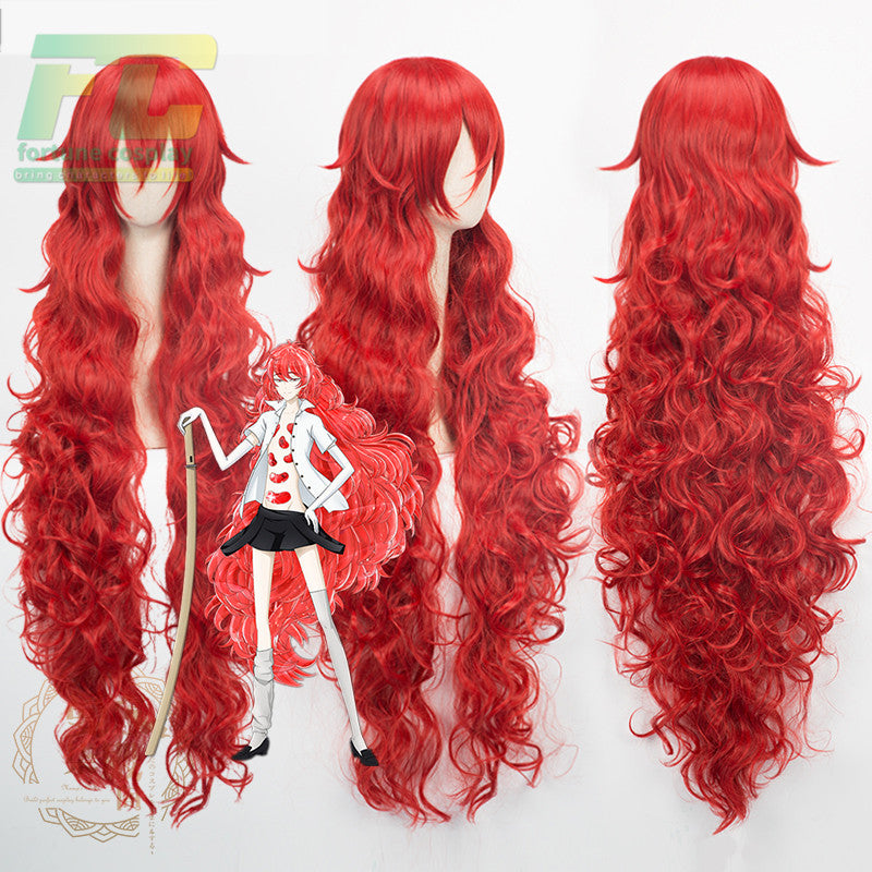 Land of the Lustrous Padparadscha Synthetic Hair Cosplay Wig Heat Resistance Fiber - fortunecosplay