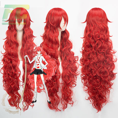 Land of the Lustrous Padparadscha Synthetic Hair Cosplay Wig Heat Resistance Fiber