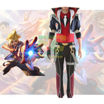 Load image into Gallery viewer, Battle Academia Ezreal Cosplay Costume LOL