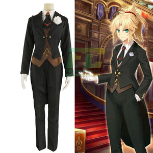 FATE/Apocrypha Fate Grand Order Mordred Cosplay Costume Custome