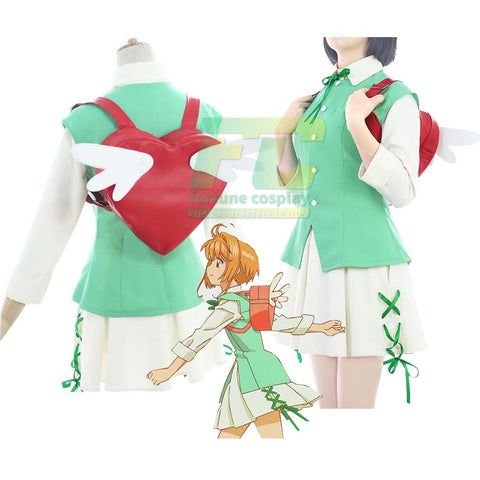 Cardcaptor Sakura Clear Card ED Cosplay Costume