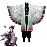 Load image into Gallery viewer, Demon Slayer Kimetsu no Yaiba Cosplay Kochou Shinobu Costume