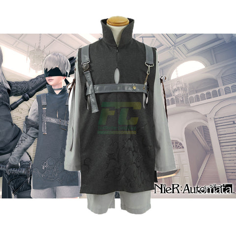 Free Shipping NieR: Automata 9S YoRHa No.9 Type S DLC Cosplay Costume