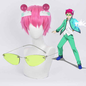 Saiki Kusuo No Sai-nan The Disastrous Life of PSI Saiki K. Cosplay Glasses Prop Hair Wigs Hair Accessories