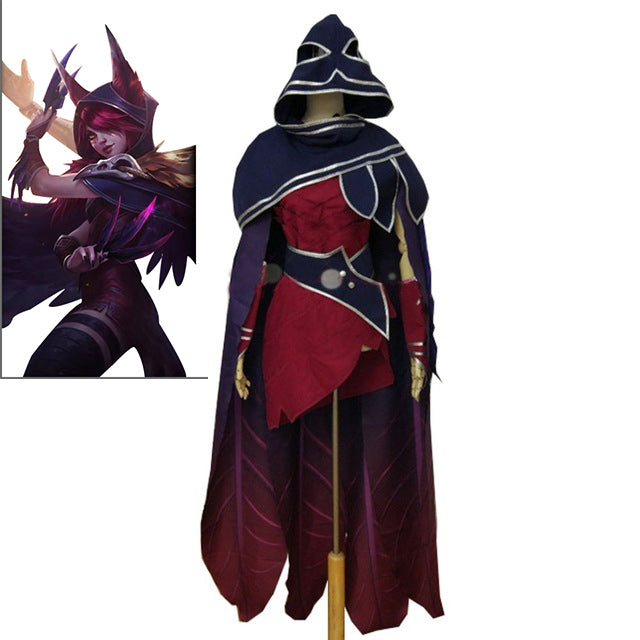 LOL Hero Xayah The Rebel Cosplay Comic Con Party Halloween Christmas Cosplay Costume  sc 1 st  Fortune Cosplay & LOL Hero Xayah The Rebel Cosplay Comic Con Party Halloween Christmas ...