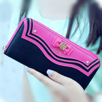 Load image into Gallery viewer, Fashion Vega Sailor Moon Ladies Long Zipper Female Bag Women Leather kawaii Wallet Purse