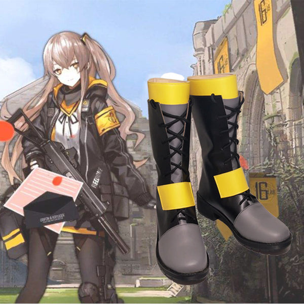Girls Frontline Ump45 Ump9 Cosplay Shoes Boots