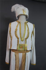 Load image into Gallery viewer, Free Shipping 2019 Movie Aladdin Lamp Prince Mena Massoud Cosplay Costume Custom Made